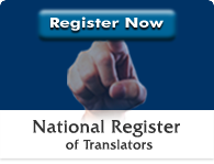 National Register for Translators